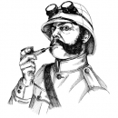 <h5>Brigadier Sir Arthur Weirdy Beardy illustration</h5>
