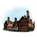 <h5>Illustrations and design for interpretation boards</h5><p>Harefield buildings</p>