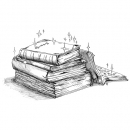 <h5>Illustrations for 'Toasted' young fiction novel</h5>