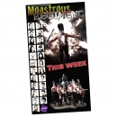 <h5>Purple Theatre Company branding and design</h5><p>'Monstrous Regiment' display</p>