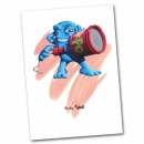 <h5>'Things' greeting cards illustration and design</h5><p>'Party Thing'</p>