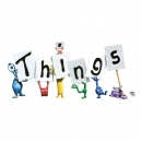 <h5>'Things' greeting cards illustration and design</h5>