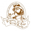 <h5>Brigadier Sir Arthur Weirdy Beardy logo and design</h5>