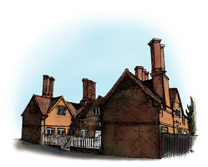 Harefield-buildings