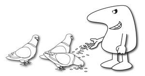 ASB-feeding-pigeons-man
